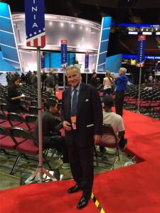 RET on Convention Floor